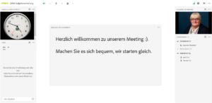 Ansicht Online-Raum HTML