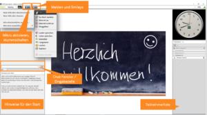 Startbildschirm Adobe-Connect-Raum